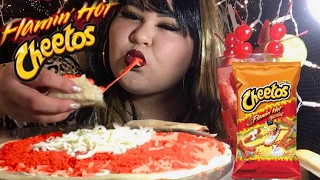 hot cheetos quesadilla mukbang wendy s eating show