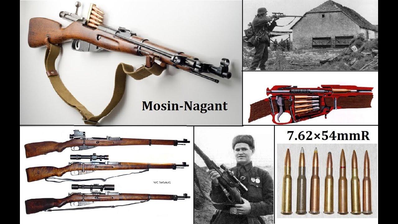 挑戰新聞軍事精華版--俄國二戰名槍「莫辛-納甘步槍」揭密 - YouTube