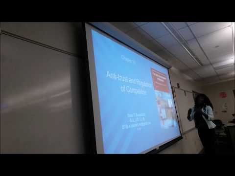 Prof Blackmore's Business Law Class - Antitrust Monopolies - Facebook