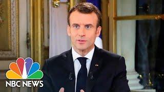 French President Emmanuel Macron On Paris Riots: 'I Take My Share Of Responsibility' | NBC News
