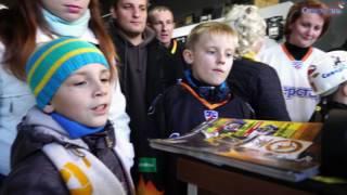 25.09.2016. Болельщики из Вологды приехали на матч и посетили магазин клубной атрибутики
