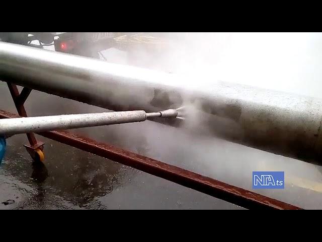 Pulizia idrodinamica industriale