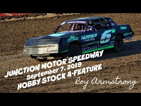 09/07/2019 Junction Motor Speedway Hobby Stock A-Feature