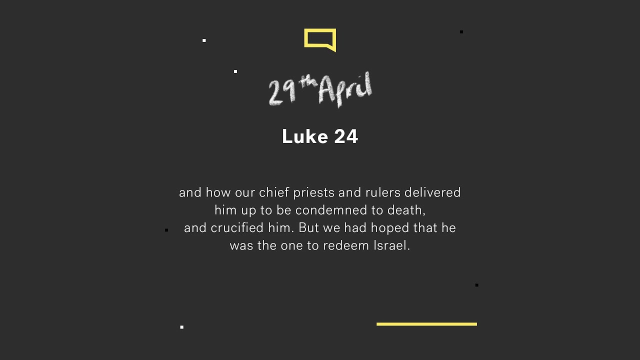 Daily Devotion  // Luke 24 Cover Image