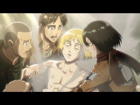 Armin's The New Colossal Titan | Attack On Titan Season 3 | HD