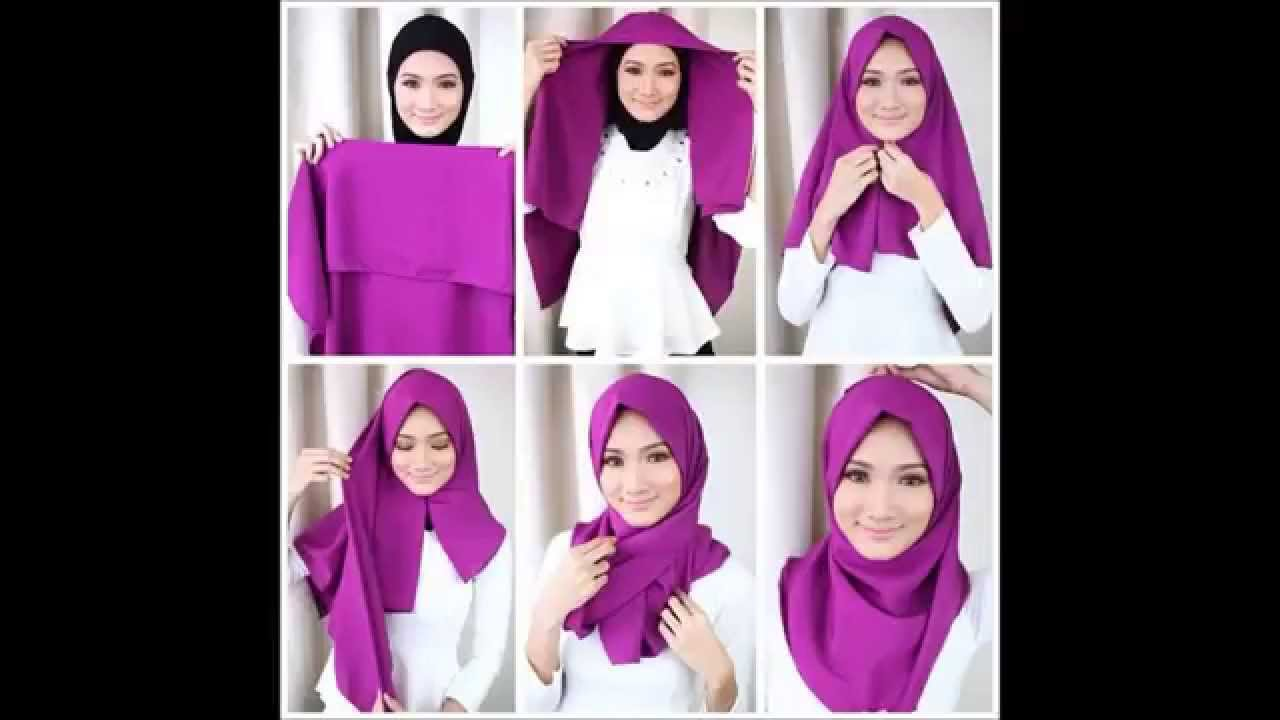 Tutorial Hijab 2015 YouTube