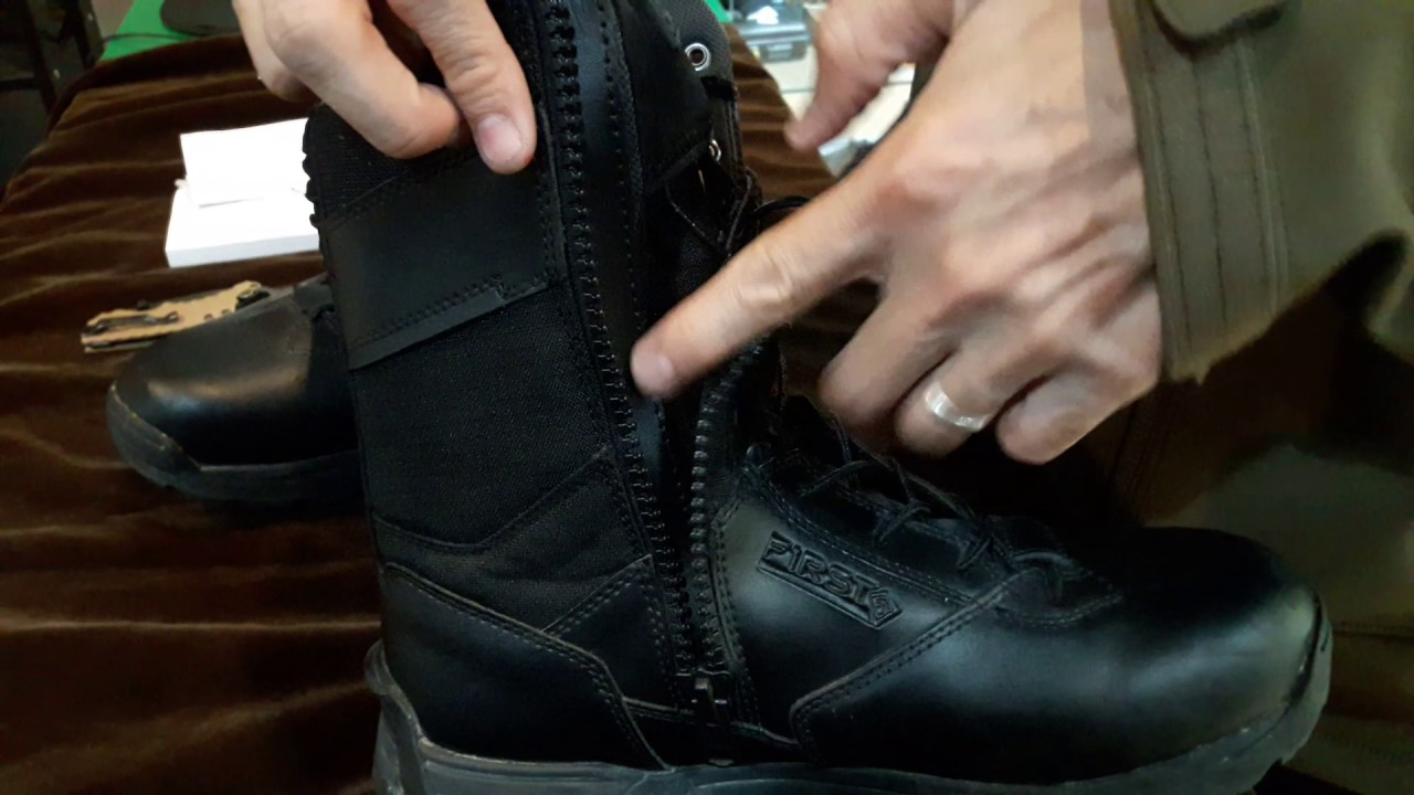 "e7c135d3235d Review First tactical MEN S 8"" SIDE ZIP DUTY BOOT BY commando tactical store"