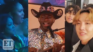 Gambar cover Lizzo Reacts To Lil Nas X and BTS' Grammy Performance