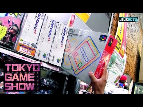 Tokyo : un magasin SECRET pour les gamers !
