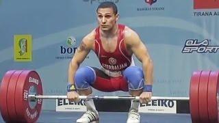 2013 European Weightlifting Championships, Men 62 kg \ Тяжелая Атлетика. Чемпионат Европы