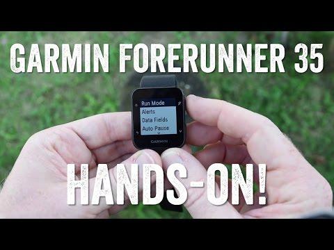 Hands-on! Garmin Forerunner 35 Features Overview!