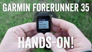 Hands-on! Garmin Forerunner 35 Features Overview!