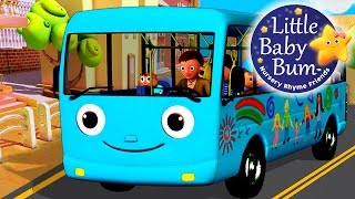 Wheels On The Bus | Part 4 | Nursery Rhymes | HD Version from LittleBabyBum