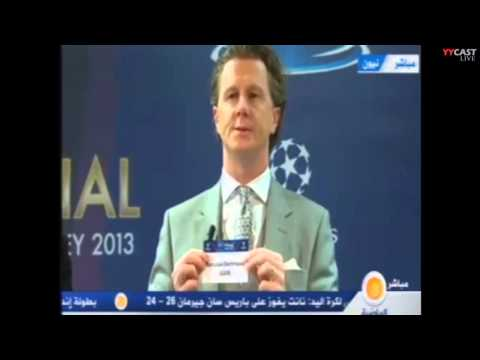 UEFA Champions League Quarter-finals Draw 2012/2013 (15/03/2013)