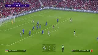 Обзор матча Португалия Азербайджан