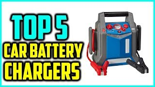 Top 5 Best Portable Car Battery Chargers