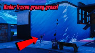 Get inside the FROZEN GREASY GROVE glitch in fortnite (new) Fortnite Glitches Season 7 PS4/Xbox one