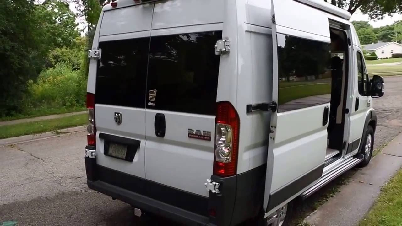 2015 Ram Promaster Van Rv Conversion Youtube