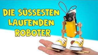 Wie Man Zu Hause 3 Lustige, Mechanische Roboter Basteln Kann ❤️🤖