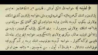 Osmanlıca Matbu Belge Okumaları (Nasreddin Hoca)