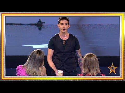 André viene de ARGENTINA para contar su historia con MAGIA | Audiciones 5 | Got Talent España 2019