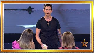 Argentinian Magician Comes To Spain To Tell His Sad Story | Spain's Got Talent 2019