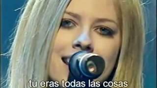 Avril Lavigne - My Happy Ending (Live) subtitulos en español