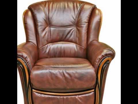 Кожаные кресла фото