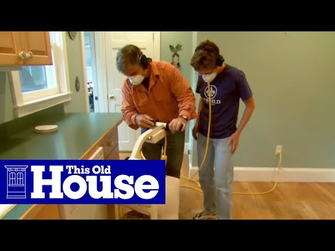 How To Strip A Hardwood Floor This Old House Youtube