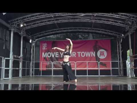 Abby Tribal Fusion Bellydance improvisation - Move Your Town Hannover 2018
