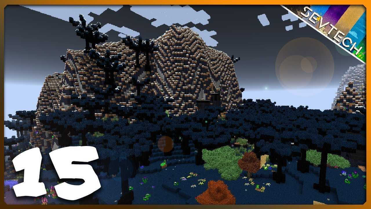 Minecraft: SevTech Ages || DARKLANDS NIGHTMARE! || Ep 15