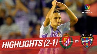 Resumen de Real Valladolid vs Levante UD (2-1)