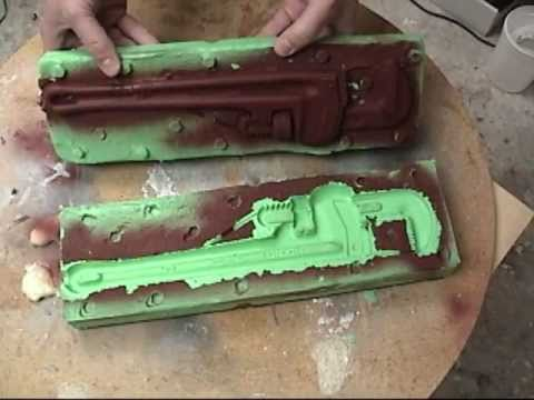 Mold Making And Casting Casting R2 Rigid Foam Youtube