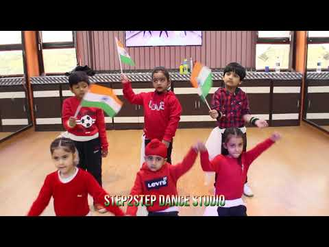 One India Mashup 2 | Easy Dance Steps For Kids | Step2Step Dance Studio | Kids Patriotic Dance
