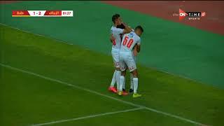 أهداف مباراة الزمالك وطنطا الودية النارية 2-1 وعودة السندباد مصطفي فتحي للتألق والتهديف