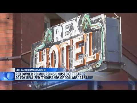 Montana Attorney General orders reimbursements for Rex gift cards