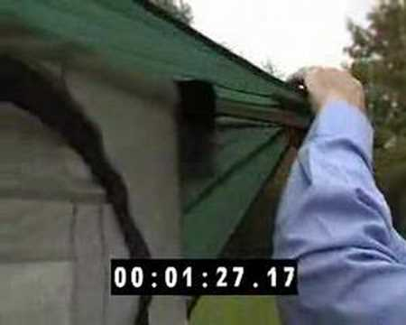 How To Put Up The Caravan Awning Quick Fit Pdq Xl Youtube