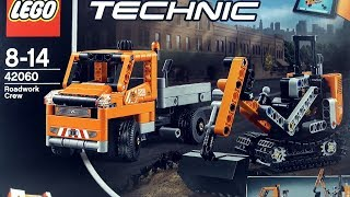 LEGO Road Work Crew 42060 - v Truck and Digger - Lego Speed Build