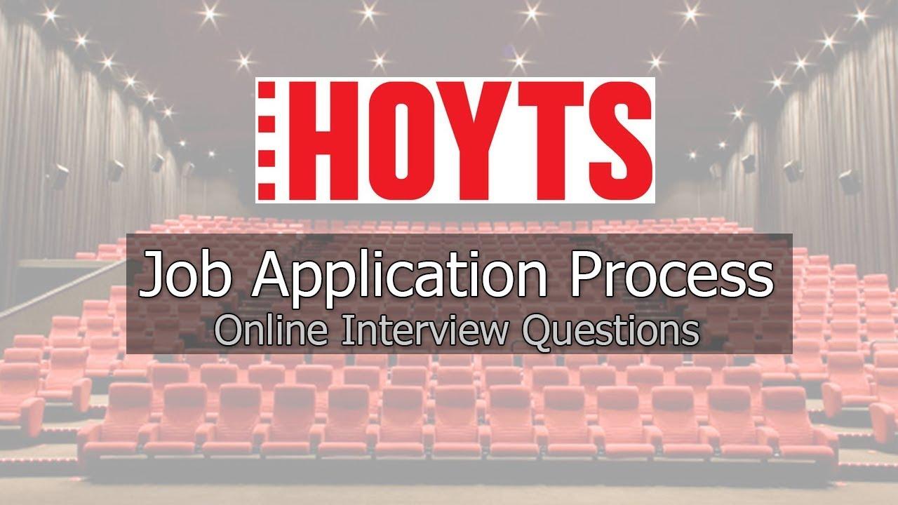 Hoyts Cinemas Job Application Process 2019