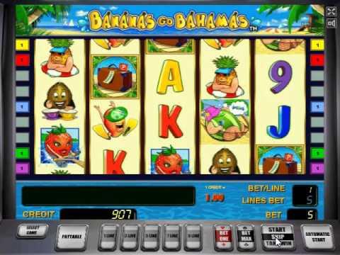 Автомат bananas go bahamas slippers