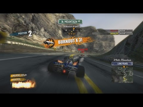 Burnout Paradise - Around Paradise online race
