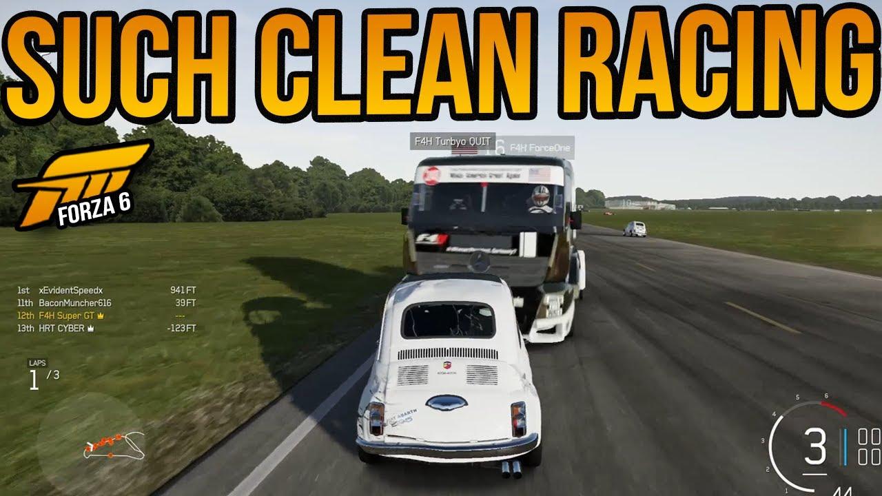 Forza 6 Beautiful Clean Racing! - YouTube