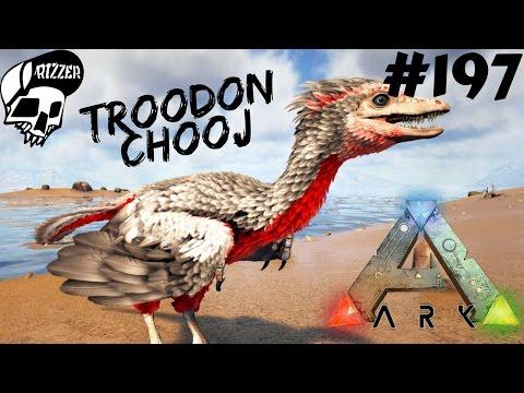 ARK Survival Evolved PL - Oswajanie Troodon - Drugie podejście #197 /Update 253