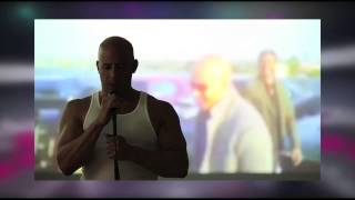 Vin Diesel le cantó emotiva canción a Paul Walker