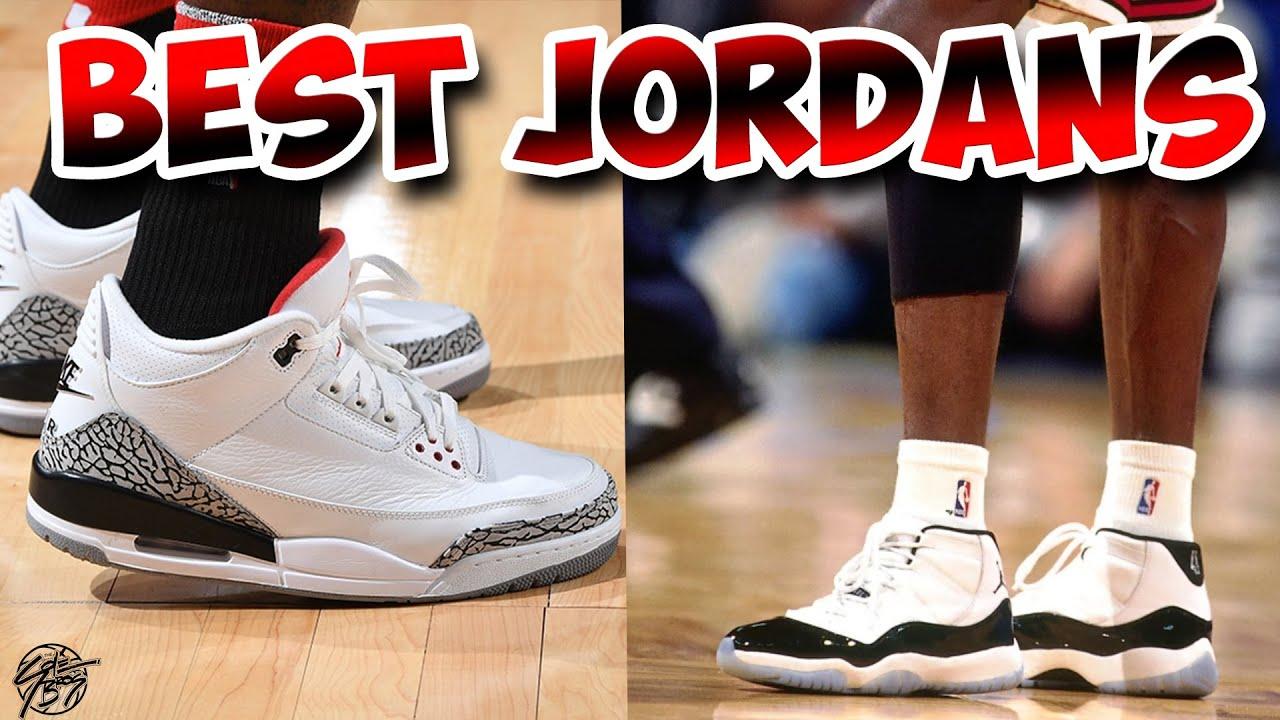 Top 5 Best JORDAN To Play Basketball In