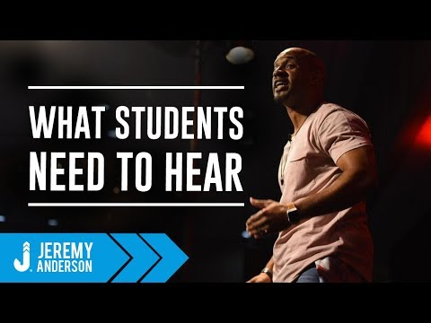 Title 1 School Speaker | Jeremy Anderson | Motivation for At Risk Youth Students