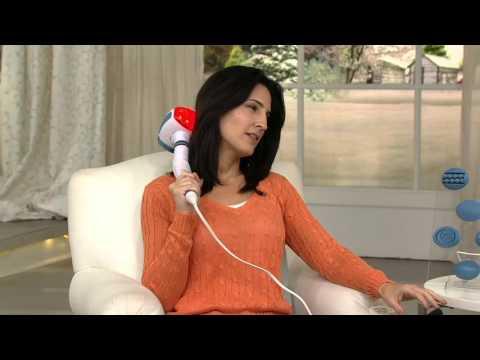 HoMedics Dual Handheld Massager with Heat and 6 Attachments on QVC