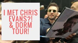 PARSONS DORM TOUR! & I MET CHRIS EVANS?!   Rhianon Paige