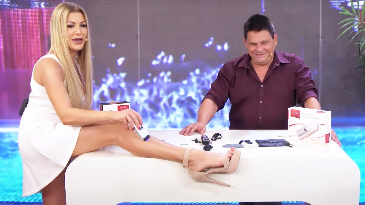 Haarentfernung mit Vivien Konca bei PEARL TV - YouTube
