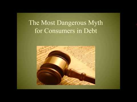 The Most Dangerous Myth For People Sued By Debt Collectors